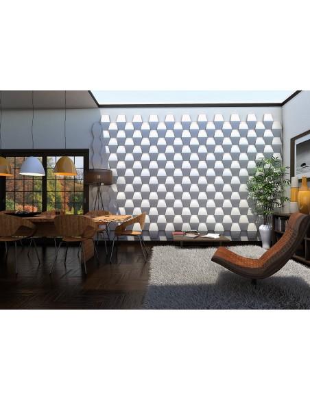 Pannello Decorativo 3D per Parete - Rivestimento Murale mod. Dublino