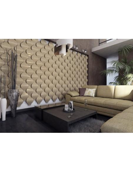 Pannello Decorativo 3D per Parete - Rivestimento Murale mod. Sofia