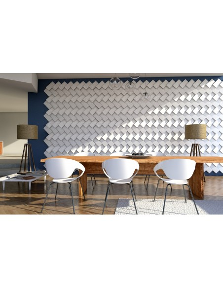 Pannello Decorativo 3D per Parete - Rivestimento Murale mod. Copenaghen