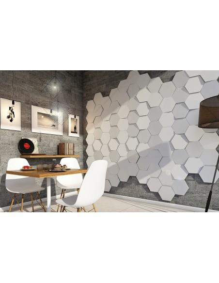 Pannello Decorativo 3D per Parete - Rivestimento Murale mod. Edimburgo