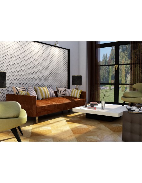 Pannello Decorativo 3D per Parete - Rivestimento Murale mod. Monaco